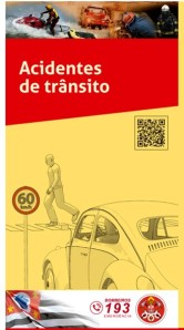 folder acidente de transito